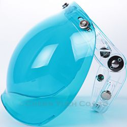 415a6037 HELMETS & GEAR » SHIELDS » 3-Snap Shield And Flip Adapter » Bubble Shield  With Flip Up Adapter